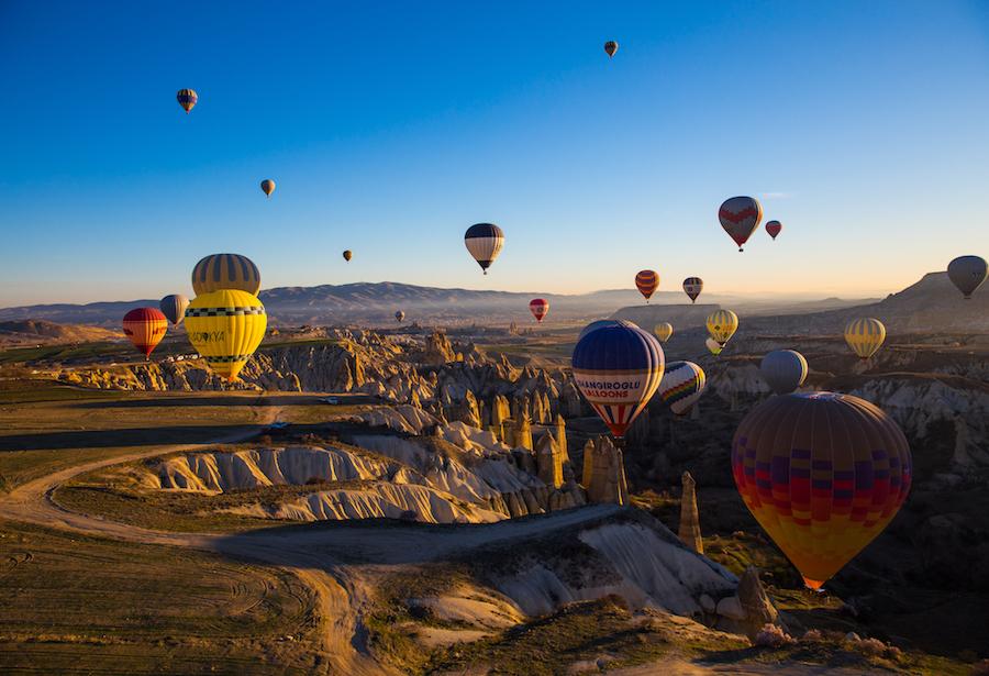BlueSkyTraveler.com: Hot Air Ballooning Cappadocia