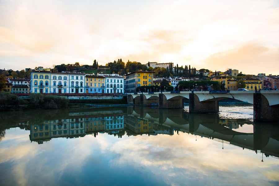 Florence Italy - River Arno