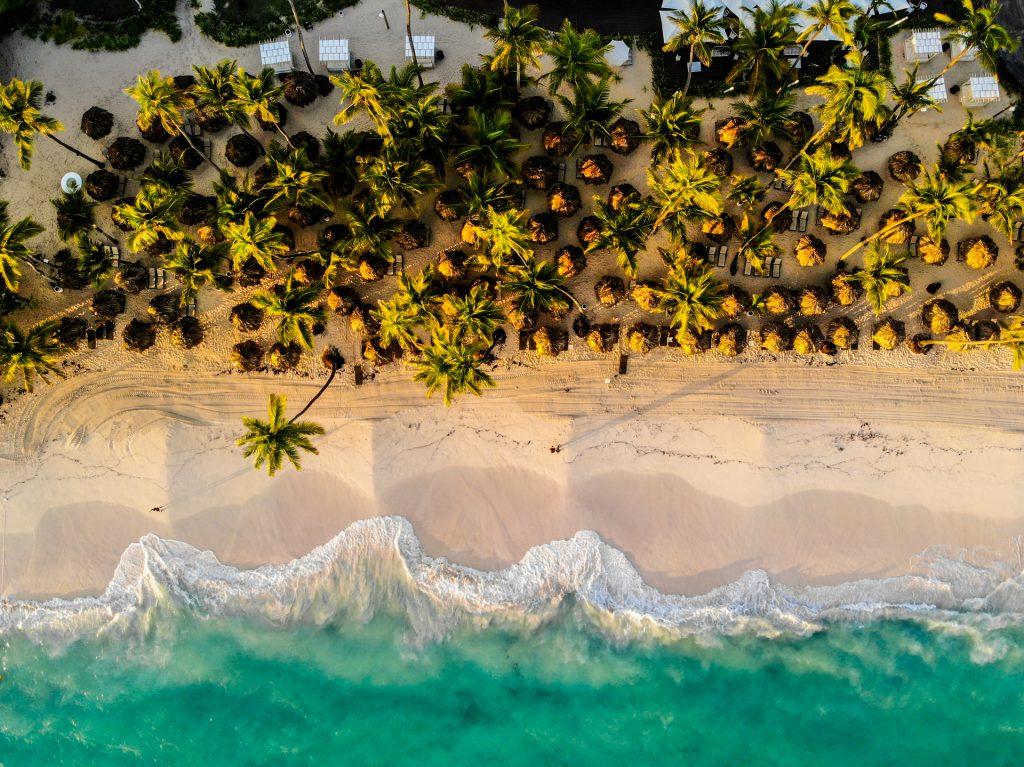 BlueSkyTraveler.DominicanRepublic.PuntaCana.TRS Turquesa Beach.Drone