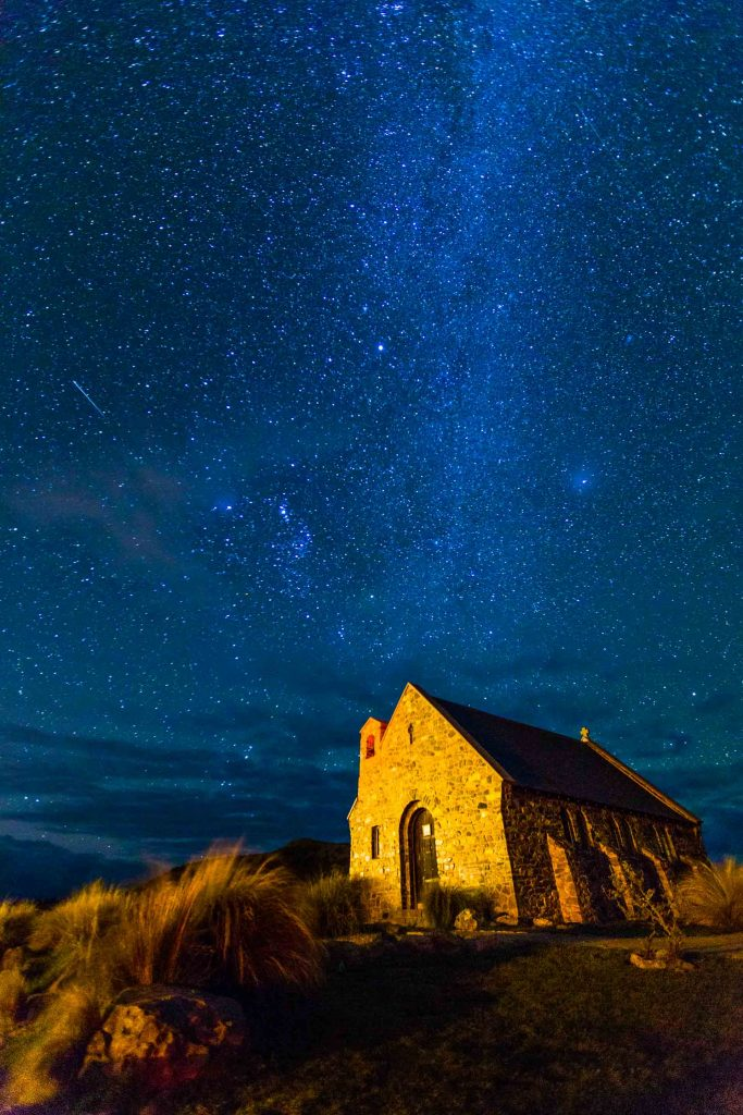 Tekapo New Zealand - Night Photography