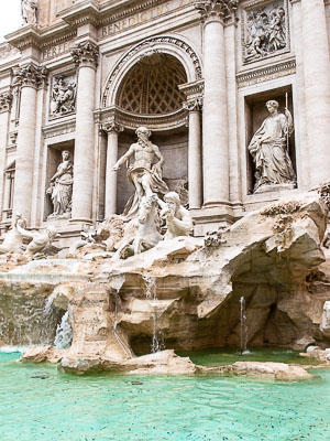 Italy Rome Movies - Trevi Fountain