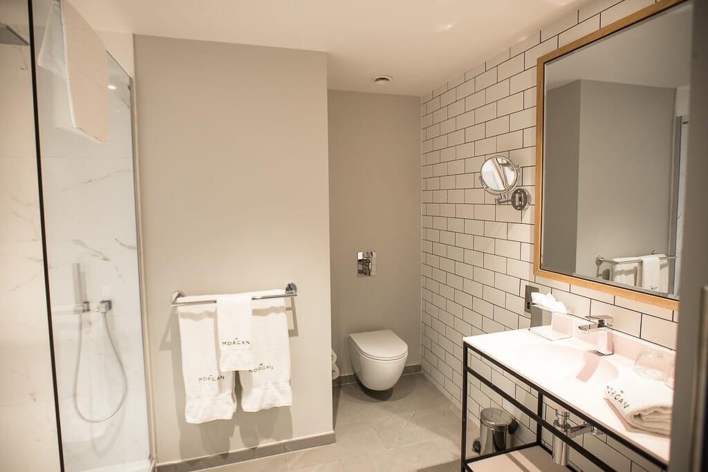 Dublin Ireland - The Morgan Hotel - Rooms / Bathroom