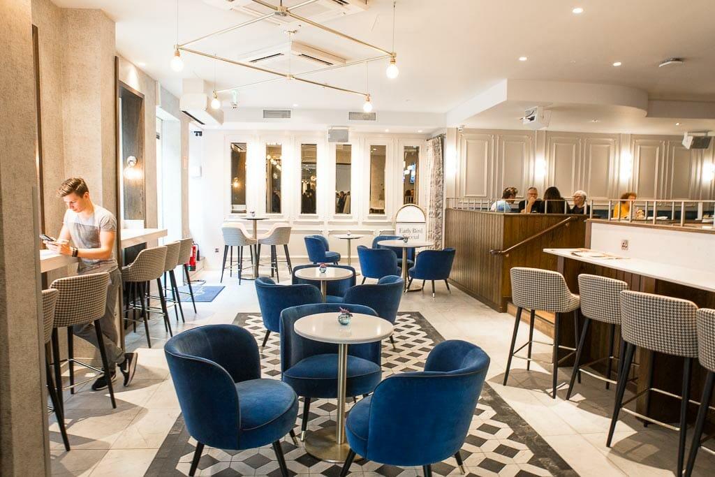 Dublin Ireland - The Morgan Hotel - Lobby