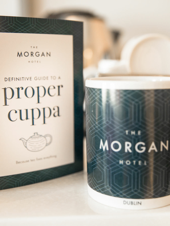 Dublin Ireland - The Morgan Hotel - Minibar