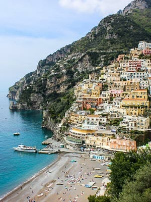 Italy Positano View