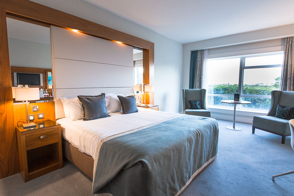 Dublin Ireland - Portmarnock Hotel & Golf LInk • Bedroom