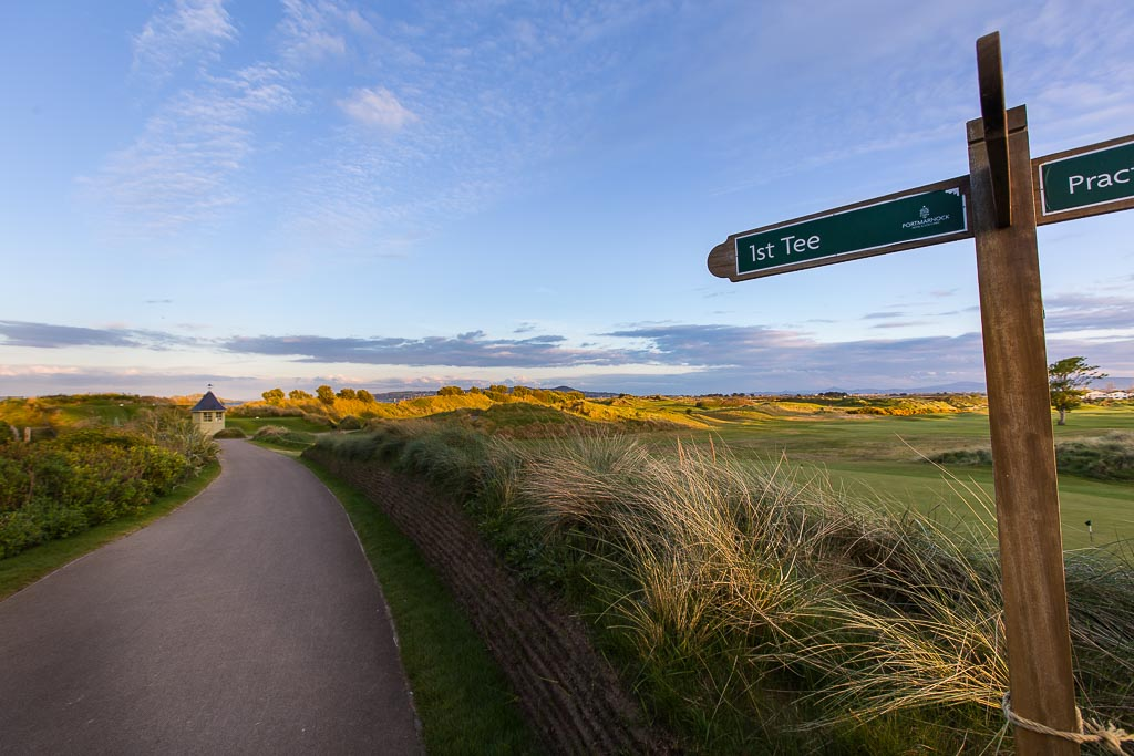 Dublin Ireland - Portmarnock Hotel & Golf Links • First Tee