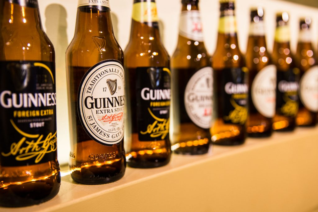 Guinness Storehouse - Beer Wall