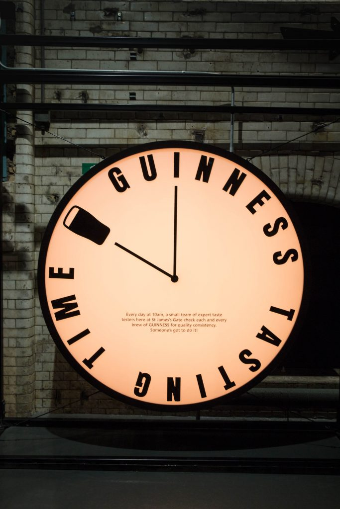 Guinness Storehouse - Clock