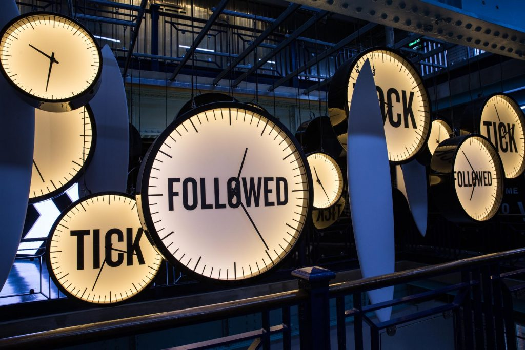 Guinness Storehouse - Clocks