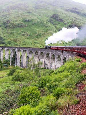 Scotland Movies - Harry Potter Train
