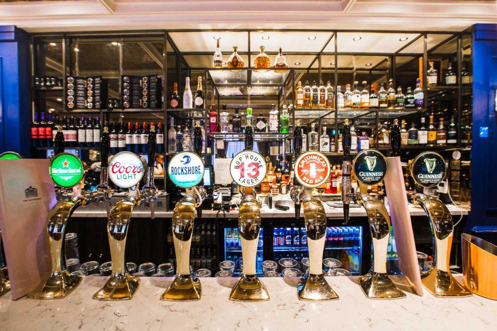 The Davenport Hotel •Dublin Ireland •Bar