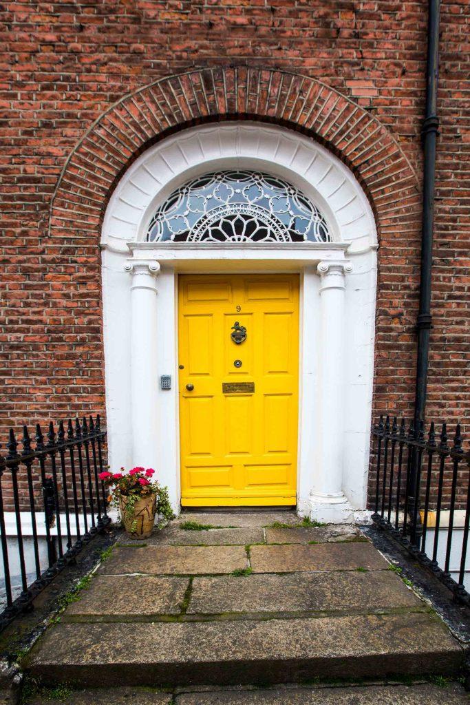 Ireland Dublin - Georgian Doors