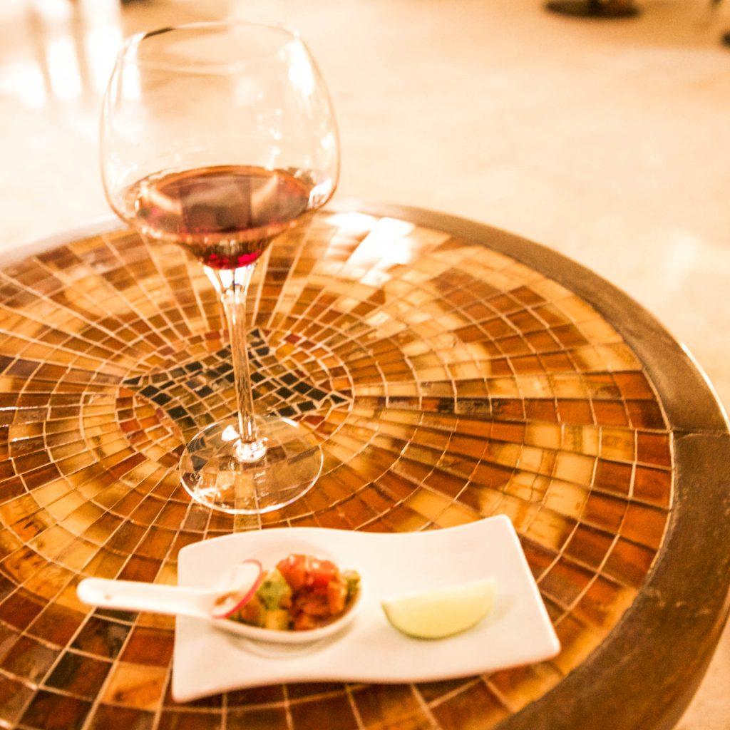 Mexico - Marival Resort - Wine Tasting