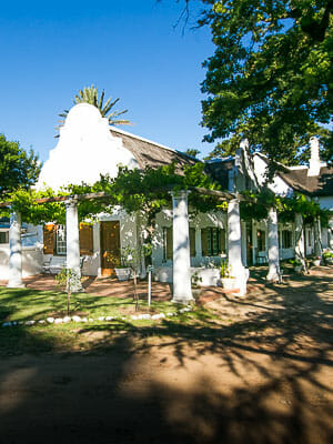 Cape Winelands - Lekkerwijn Country Guest House