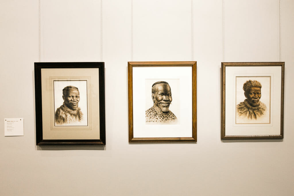 Cape Town - Winelands - Rupert Gallery - Faces and Figures