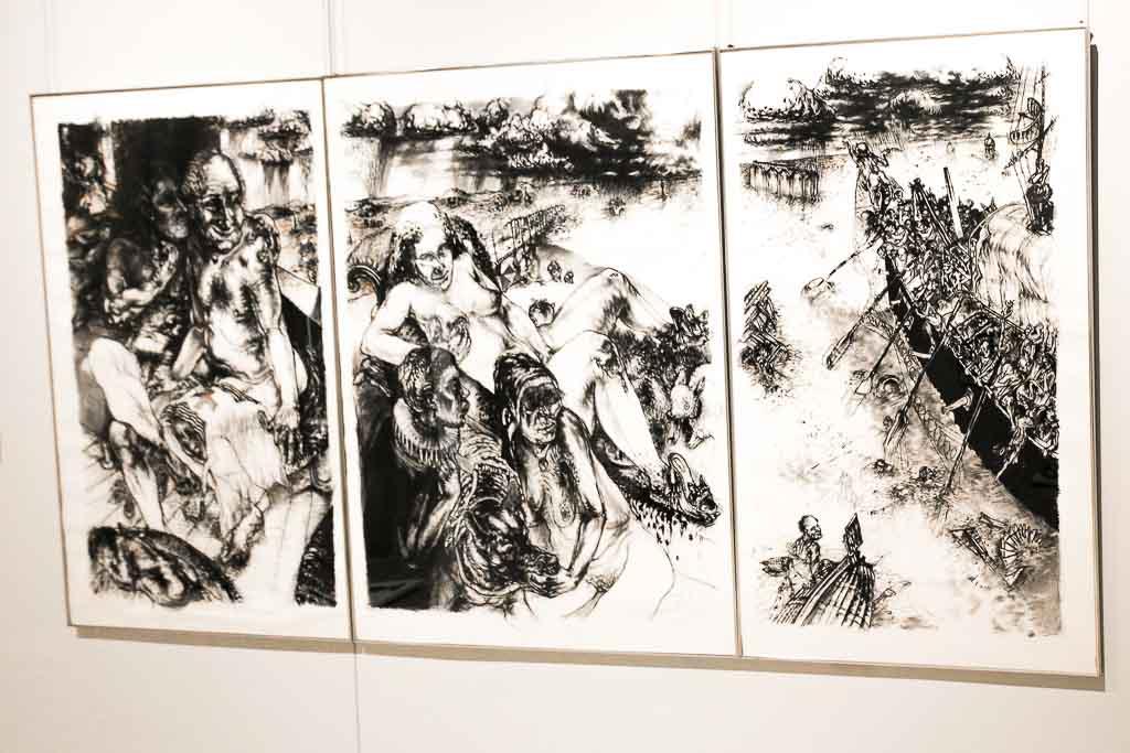Cape Town - Winelands - Rupert Gallery - Judgement of Parys