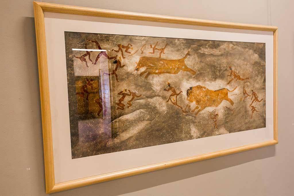 Cape Town - Winelands - Rupert Gallery - Rock Art Tracings
