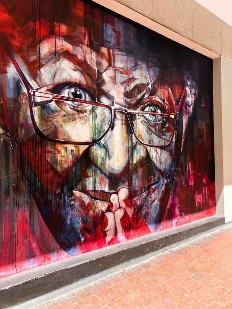 Cape Town - City Bowl - Desmond Tutu Mural