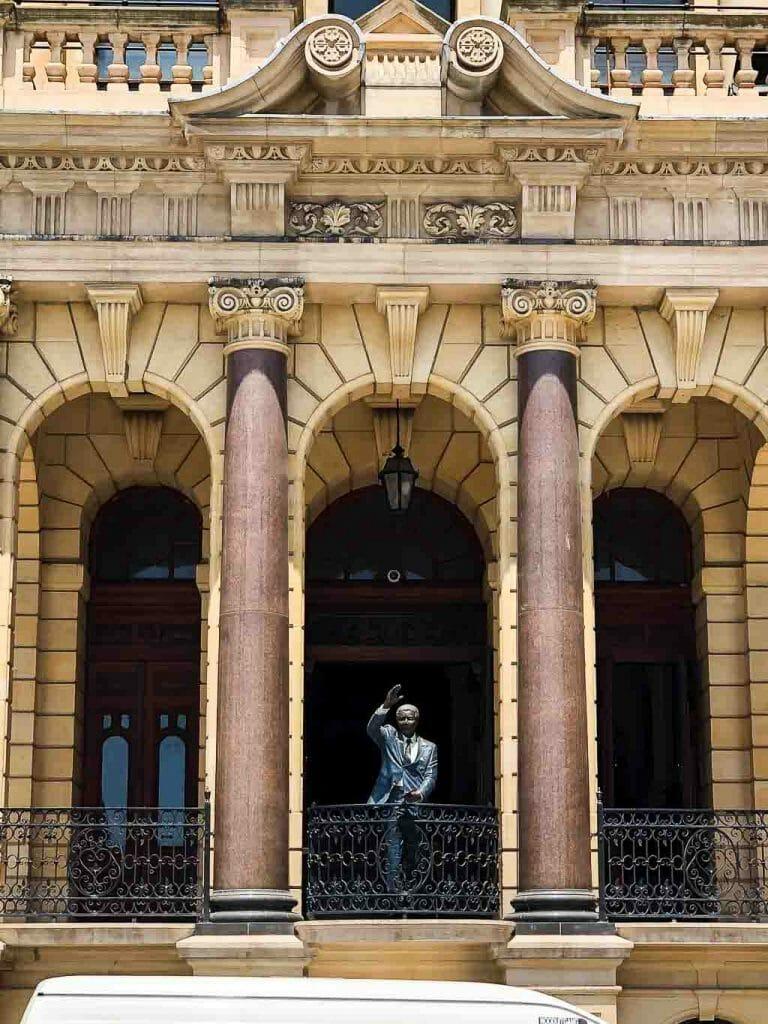 Cape Town - City Bowl - City Hall - Nelson Mandela