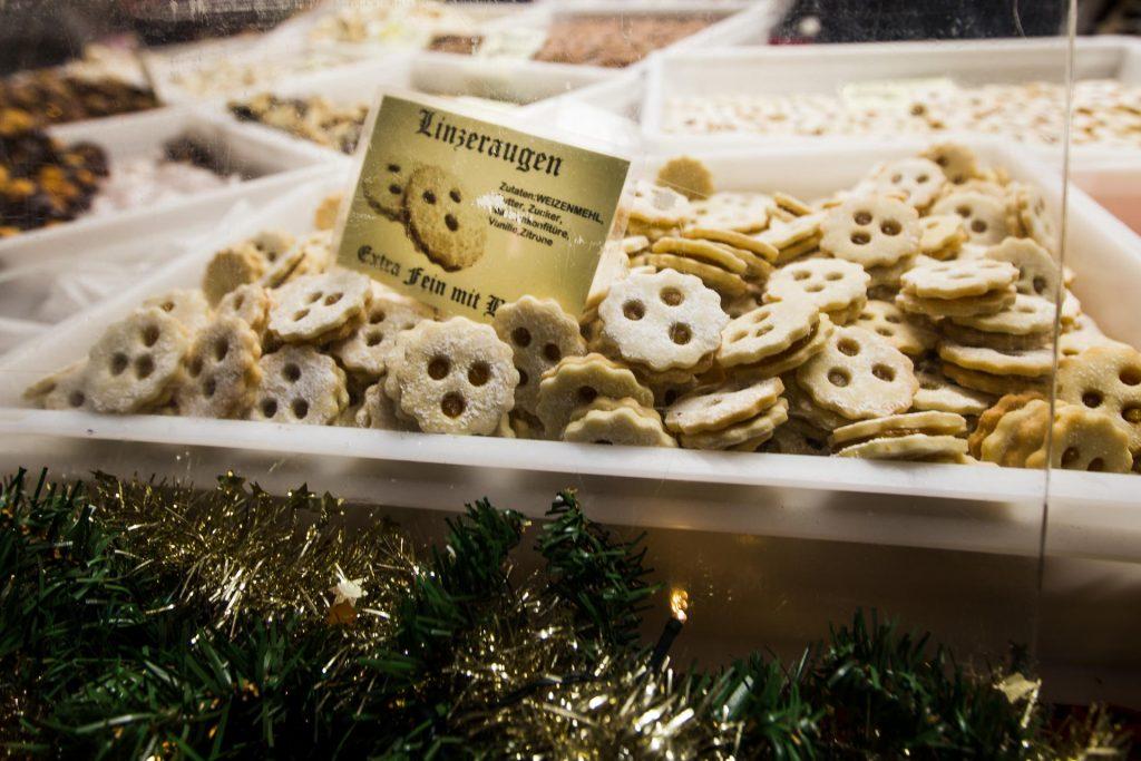Linz Linzeraugen Cookie