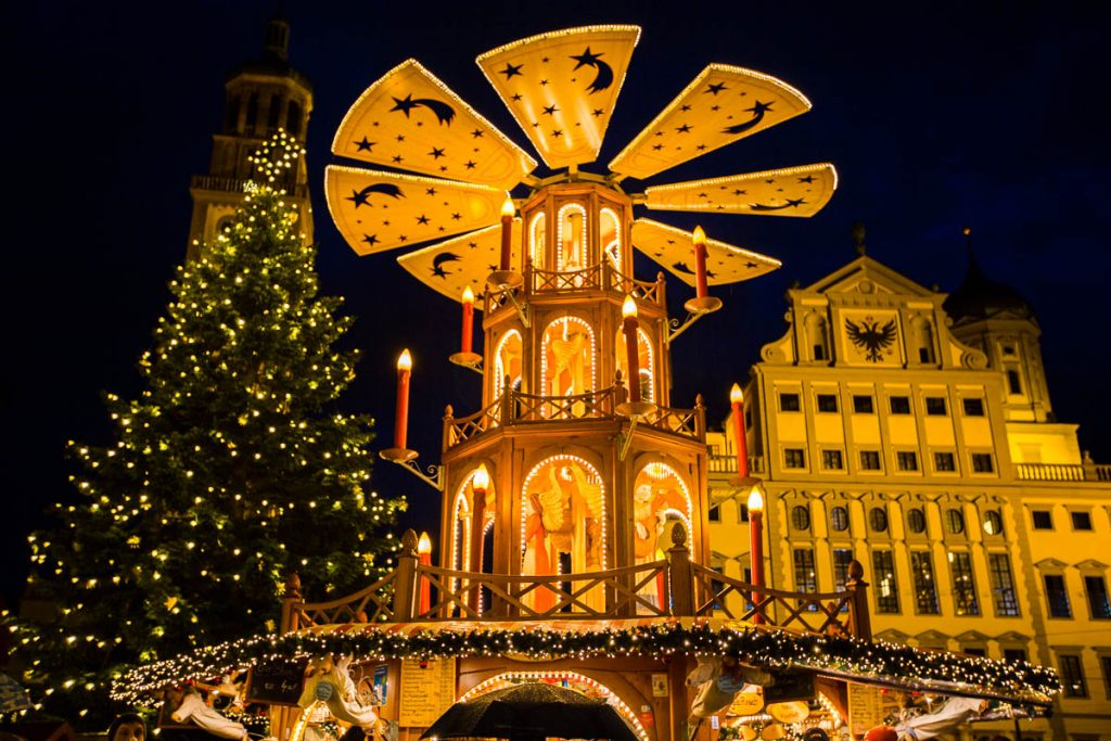 German Christmas Market - Augsburg