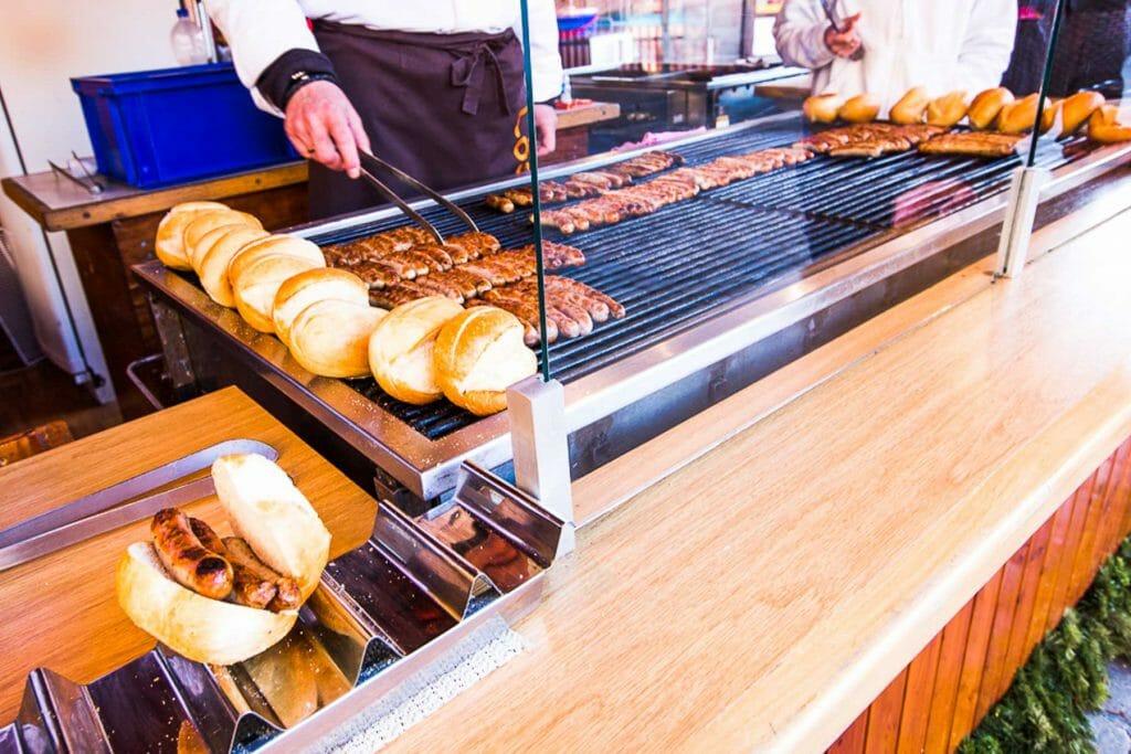 Nuremberg Sausage - German Christmas Market