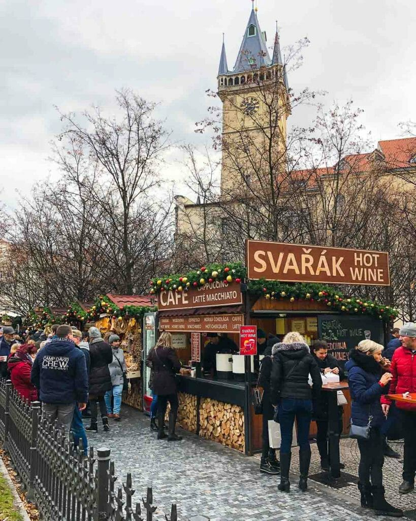Christmas Markets Prague - Svarak - Hot Mulled Wine