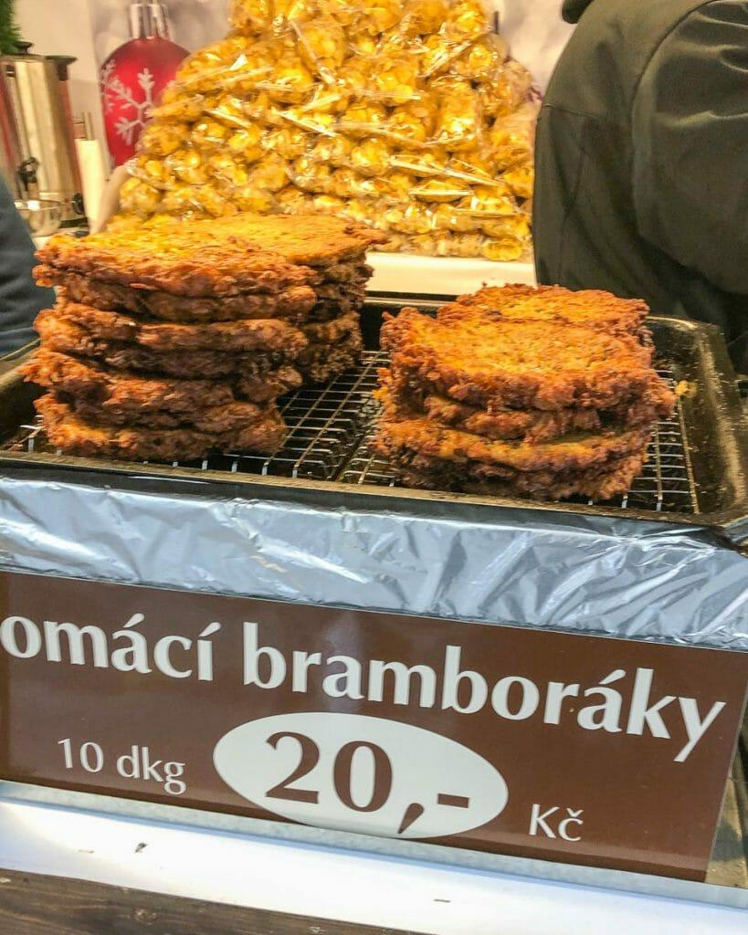 Christmas Markets - bramboráčky