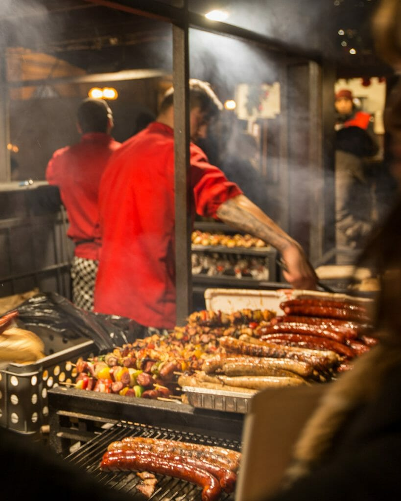 Christmas Markets - Sausages