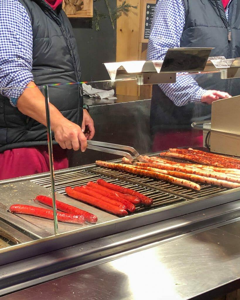 Christmas Markets - Regensberg Sausage