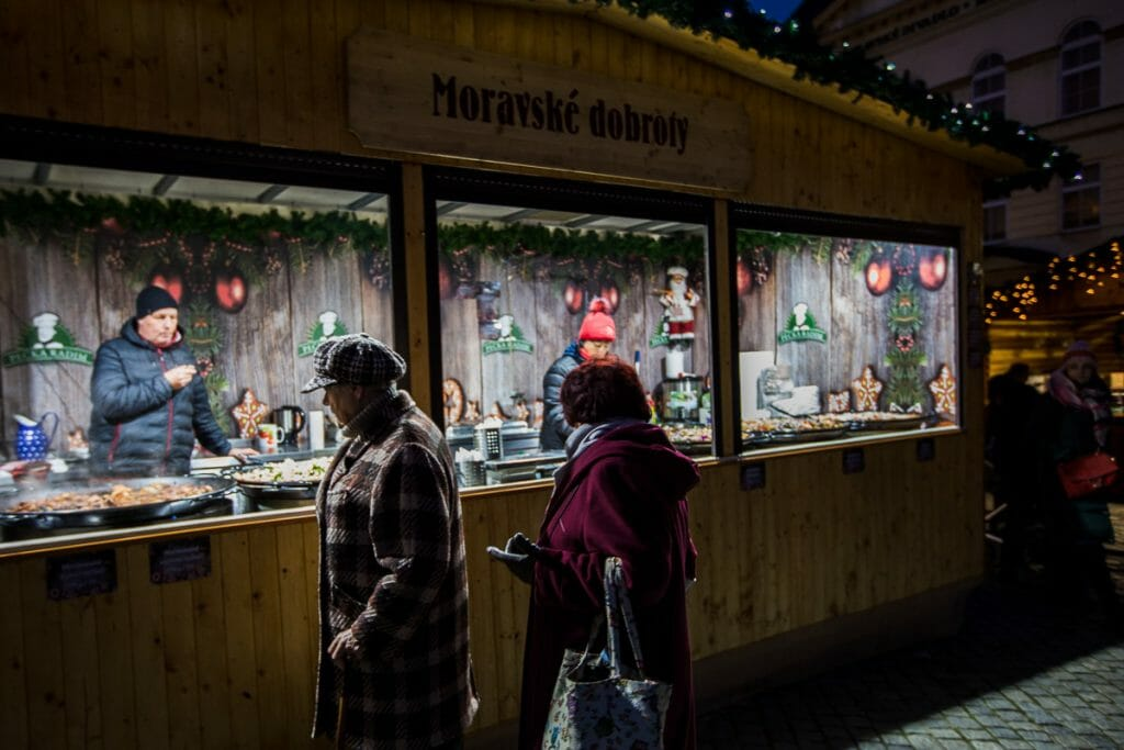 Christmas Markets - Food