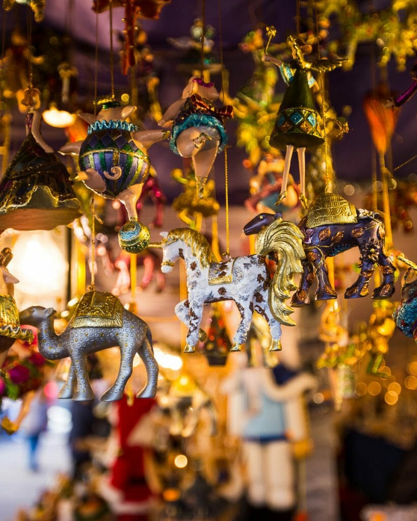 Christmas Market Ornaments