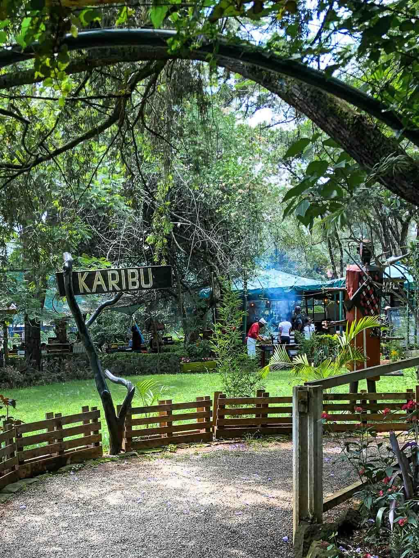 Swahili sign - Karibu