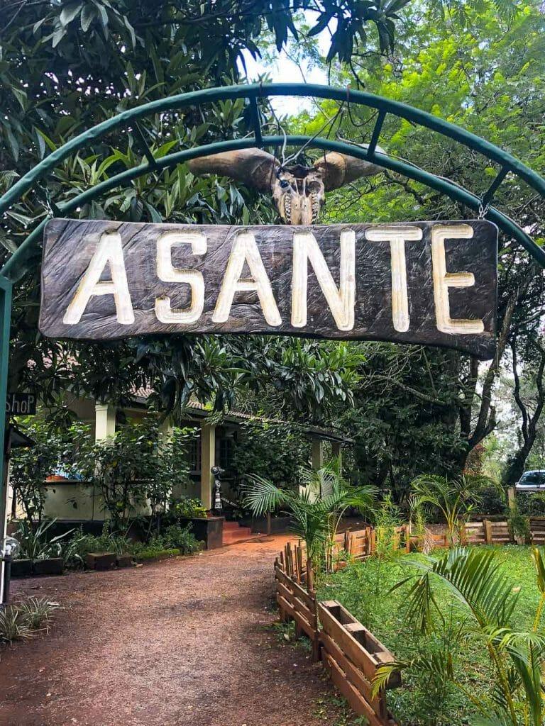 Swahili Language Sign - Asante